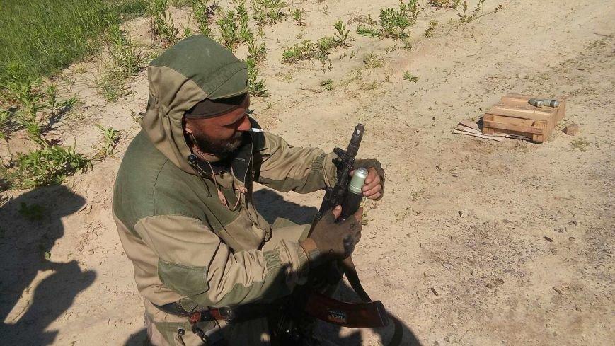 Правоохранители Бахмутской оперативной зоны осваивают новые виды вооружения, фото-4