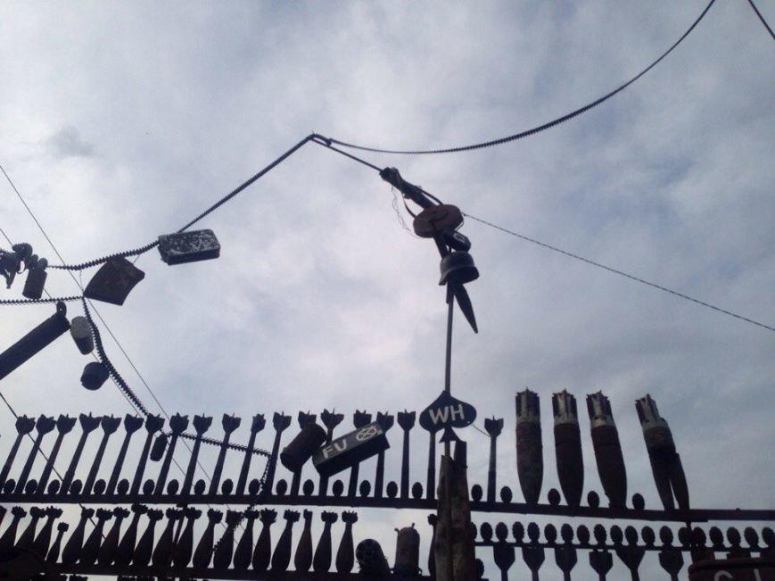 В Мелитополе обнаружен забор-музей времен Второй мировой, фото-1