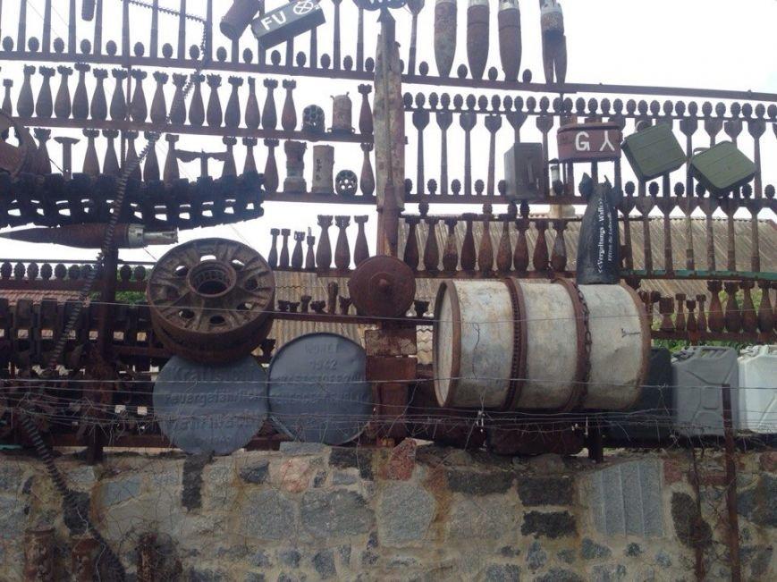 В Мелитополе обнаружен забор-музей времен Второй мировой, фото-3
