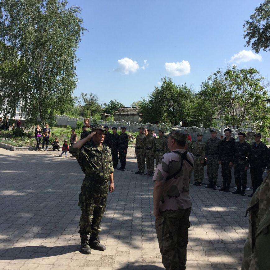 Военно-патриотические соревнования в Святогоровке, фото-1