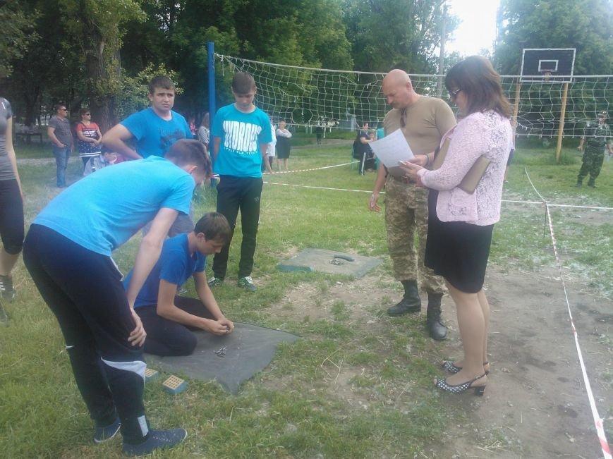 Военно-патриотические соревнования в Святогоровке, фото-4
