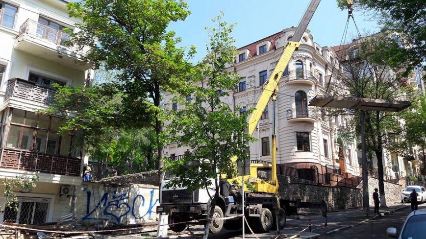На Бессарабке местные жители перекрыли улицу, фото-2