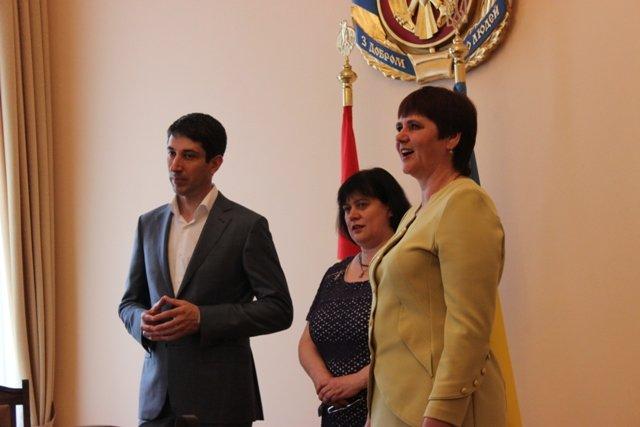 Губернатор Кировоградской области встретился с юными талантами Доброполья, фото-3