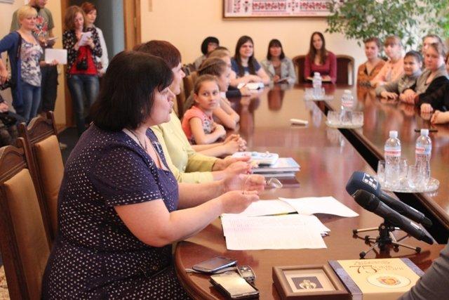 Губернатор Кировоградской области встретился с юными талантами Доброполья, фото-4