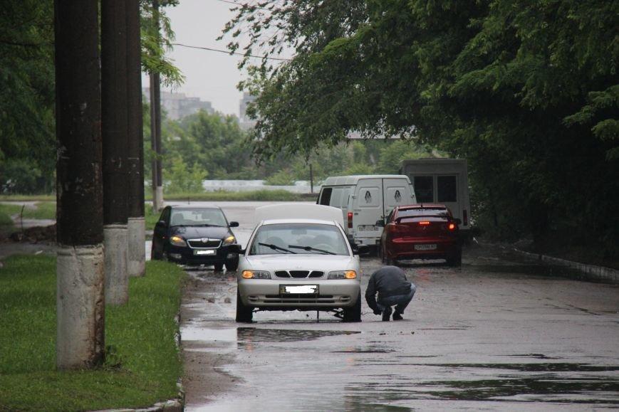 В Херсоне чрезвычайная ситуация - прошел дождь, фото-5