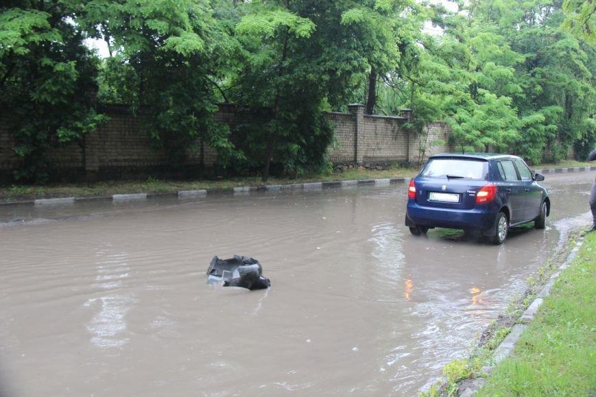 В Херсоне чрезвычайная ситуация - прошел дождь, фото-4