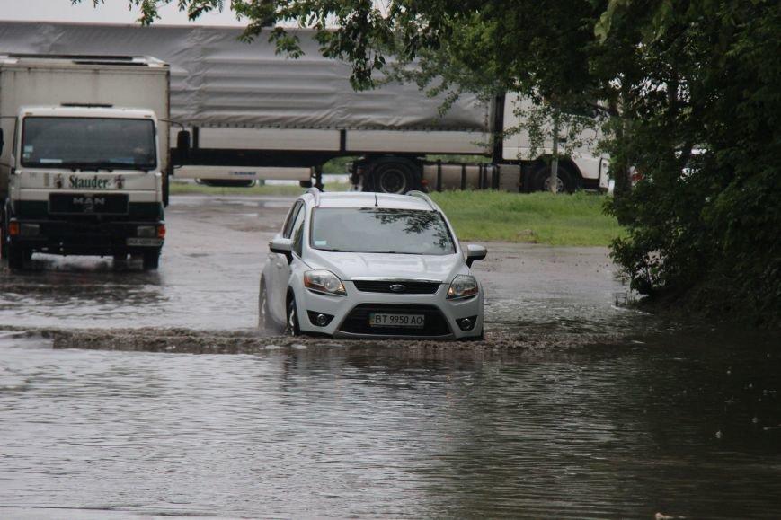 В Херсоне чрезвычайная ситуация - прошел дождь, фото-3