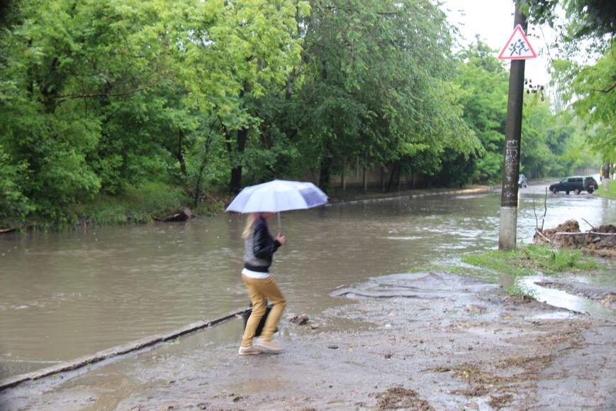 В Херсоне чрезвычайная ситуация - прошел дождь, фото-1
