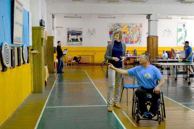 Днепродзержинские спортсмены с ограниченными возможностями победили на областной спартакиаде, фото-1