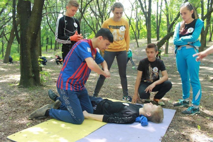 В Доброполье прошли соревнования по пешеходному туризму (ФОТО), фото-15
