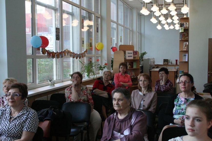 Сергей Переверзев встретился с читателями Троицкой библиотеки, фото-1