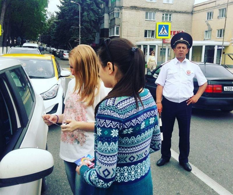 В Пятигорске прошли акции посвященные  защите детей на дороге, фото-2