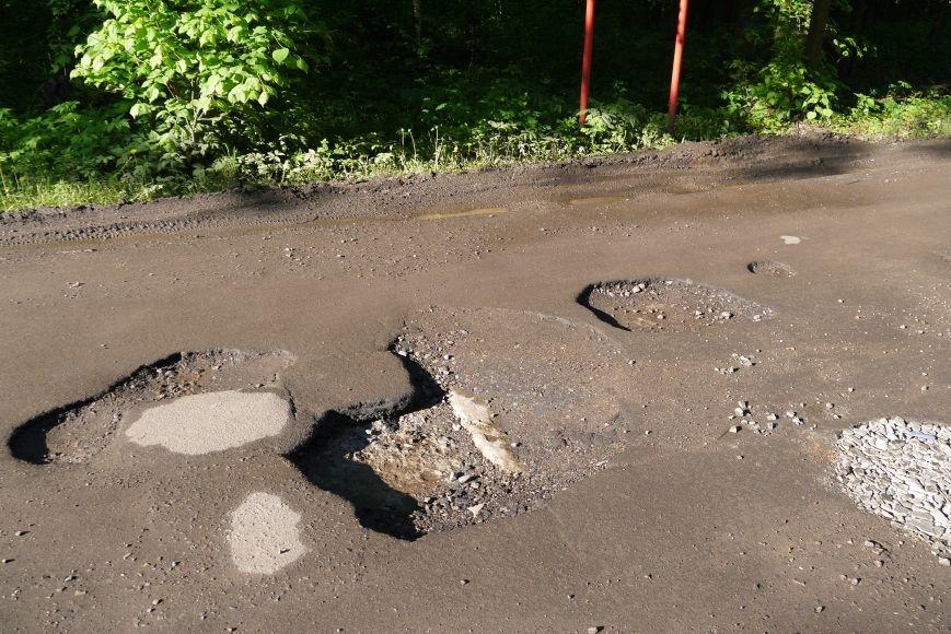 Дорогу в Первомайском отремонтируют при поступлении крошки, фото-1
