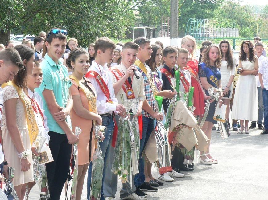 Специалисты Мелитопольской ОГНИ отпраздновали последний звонок вместе со школьниками, фото-3