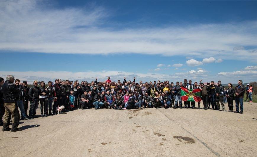 Байкеры Сахалина открыли мотосезон на аэродроме Пушистый, фото-6