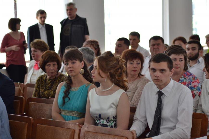 В Днепродзержинске наградили выпускников-медалистов, фото-5