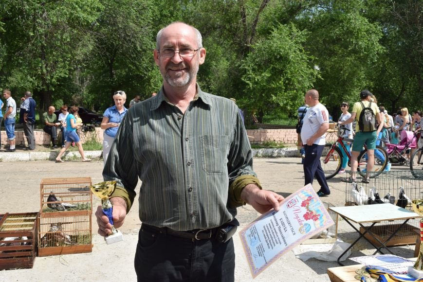 В Северодонецке прошла выставка голубей (ФОТО), фото-6