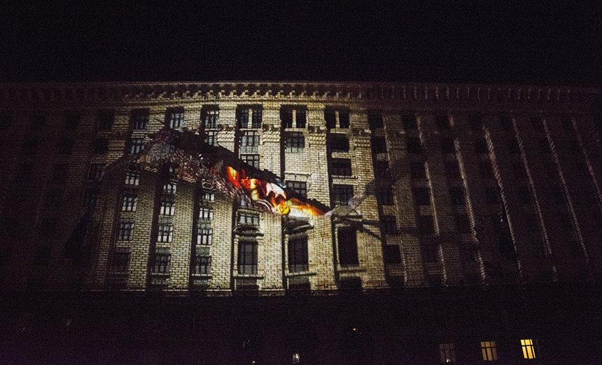 В Киеве показали проекционное 3D-шоу (ФОТОРЕПОРТАЖ), фото-9
