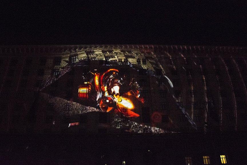 В Киеве показали проекционное 3D-шоу (ФОТОРЕПОРТАЖ), фото-10