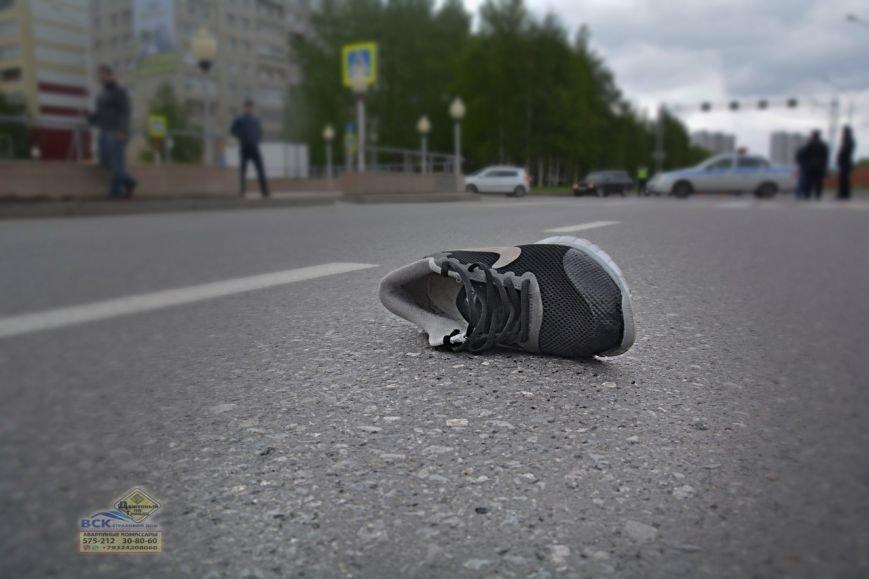 В Нижневартовске на пешеходном переходе возле Дворца Искусств  насмерть сбили пешехода //ВИДЕО, фото-1