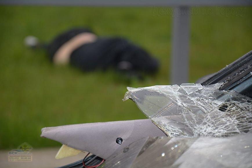 В Нижневартовске на пешеходном переходе возле Дворца Искусств  насмерть сбили пешехода //ВИДЕО, фото-2