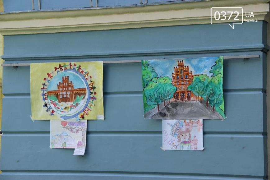 «Місто моєї мрії» - у чернівецькій мерії триває виставка малюнків, фото-3