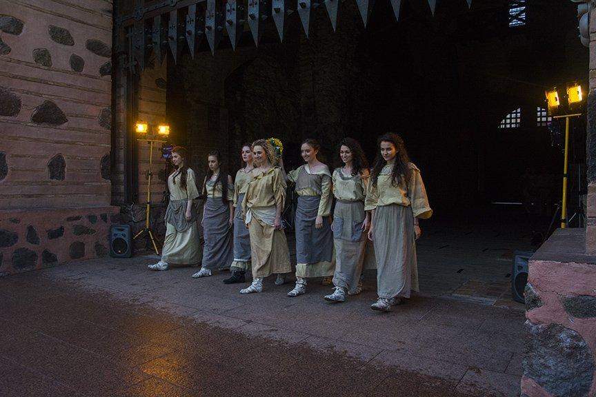 У Золотых ворот прошла постановка о защитниках средневекового Киева и современной Украины, фото-2