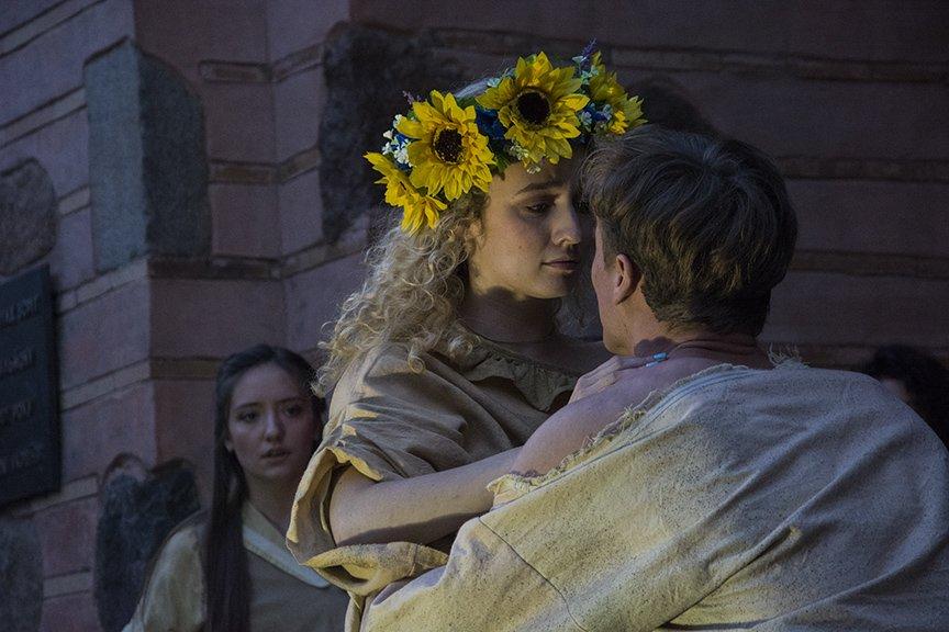 У Золотых ворот прошла постановка о защитниках средневекового Киева и современной Украины, фото-14