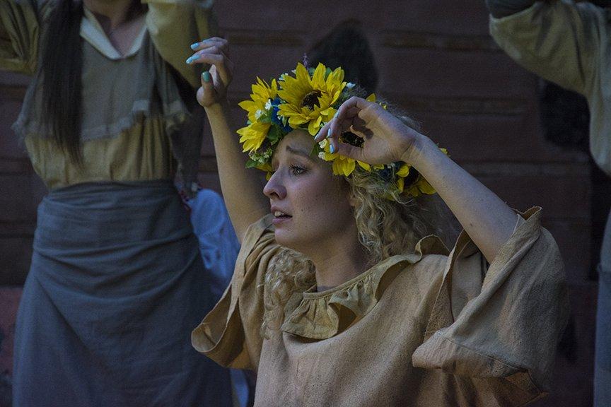 У Золотых ворот прошла постановка о защитниках средневекового Киева и современной Украины, фото-16