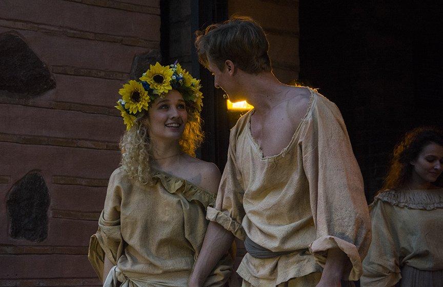 У Золотых ворот прошла постановка о защитниках средневекового Киева и современной Украины, фото-10