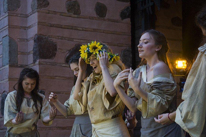 У Золотых ворот прошла постановка о защитниках средневекового Киева и современной Украины, фото-4