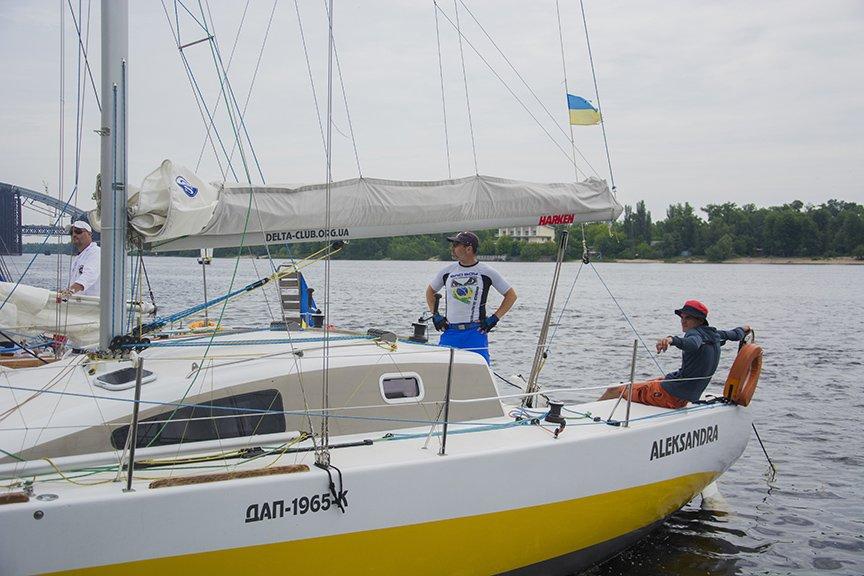 В Киеве прошла парусная регата (ФОТОРЕПОРТАЖ), фото-2