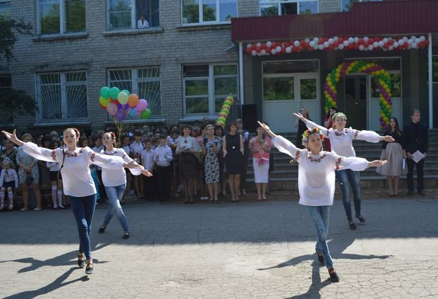 До свидания, школа! - последний звонок в Доброполье, фото-2