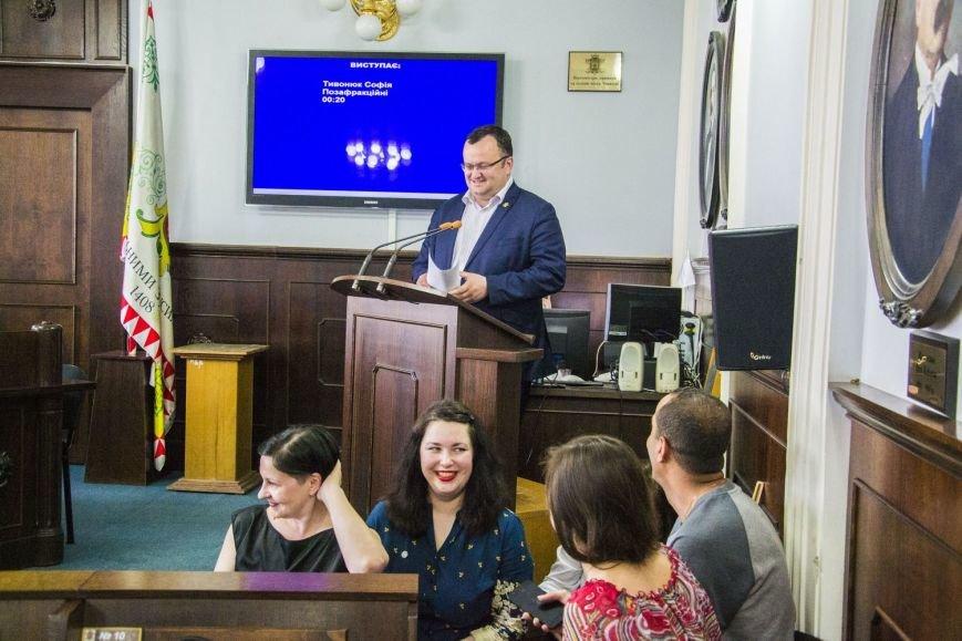 Вчора у сесійній залі чернівецької міськради відбулося засідання депутатів майбутнього(ФОТО), фото-2