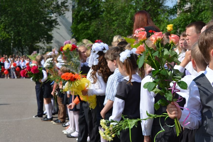 В Новополоцке прозвенел последний звонок. Фоторепортаж из гимназии №1, фото-41