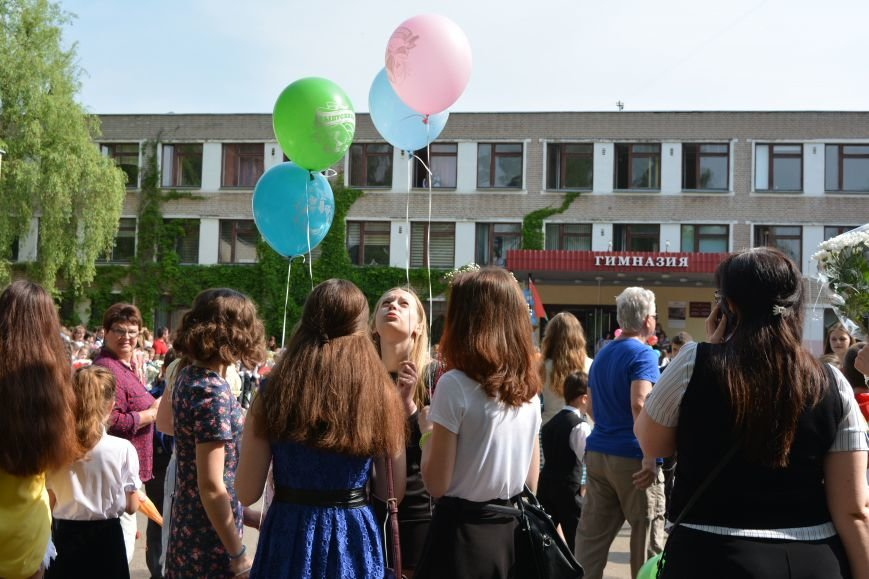 В Новополоцке прозвенел последний звонок. Фоторепортаж из гимназии №1, фото-29