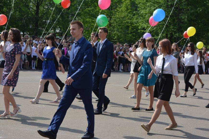В Новополоцке прозвенел последний звонок. Фоторепортаж из гимназии №1, фото-38