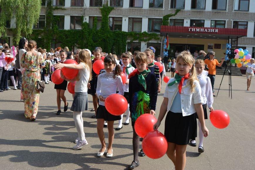 В Новополоцке прозвенел последний звонок. Фоторепортаж из гимназии №1, фото-31