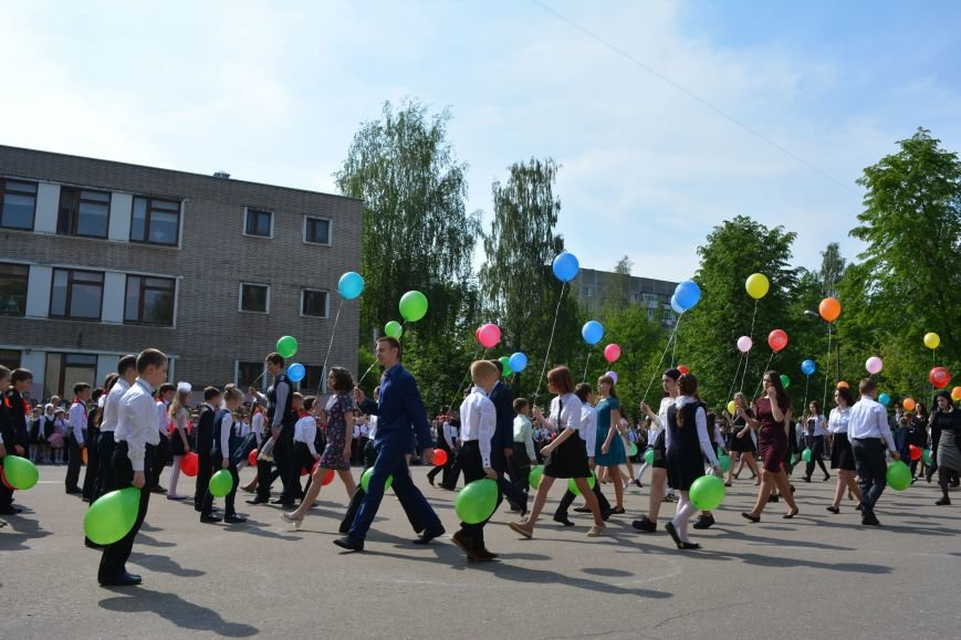 В Новополоцке прозвенел последний звонок. Фоторепортаж из гимназии №1, фото-36