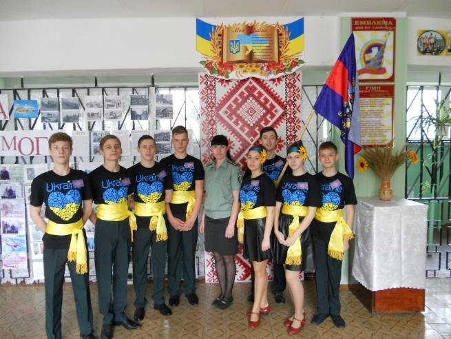 Работники Добропольской пенитенциарной службы провели встречу с учащимися УВК №4, фото-3