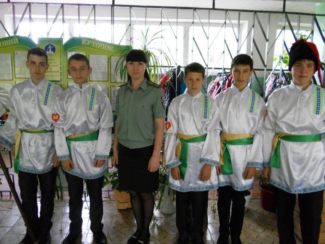 Работники Добропольской пенитенциарной службы провели встречу с учащимися УВК №4, фото-2