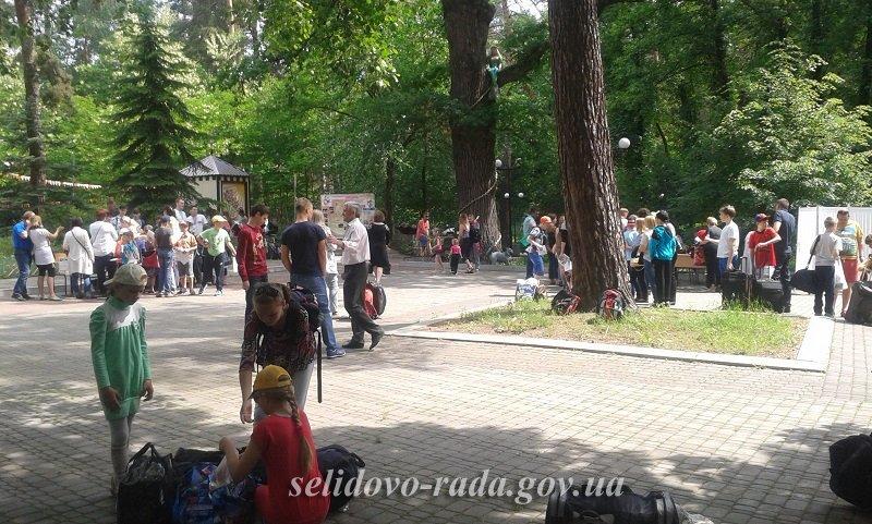 """""""Жемчужина Донетчины"""" приняла селидовских школьников, фото-2"""