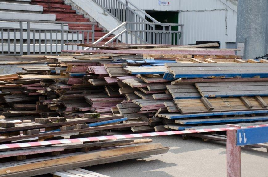 В Сыктывкаре, на Республиканском стадионе, идёт ремонт, фото-1