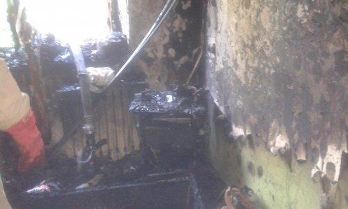 В Першотравенске соседи спасли детей из горящей квартиры, фото-1