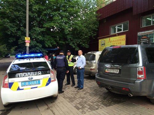 Патрульная полиция оштрафовала бывшего мэра Краматорска Геннадия Костюкова, фото-1