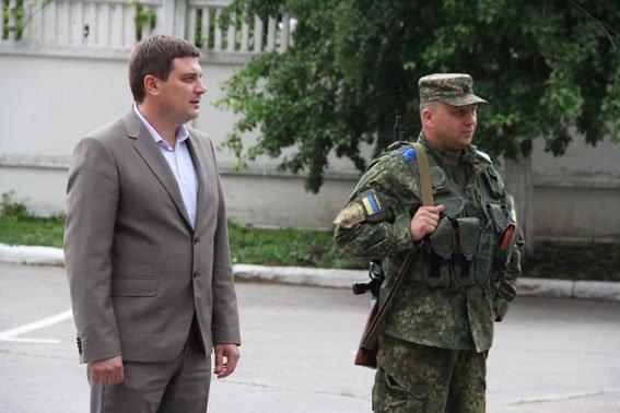 Бойцы роты «Чернигов» уехали в зону АТО, фото-4