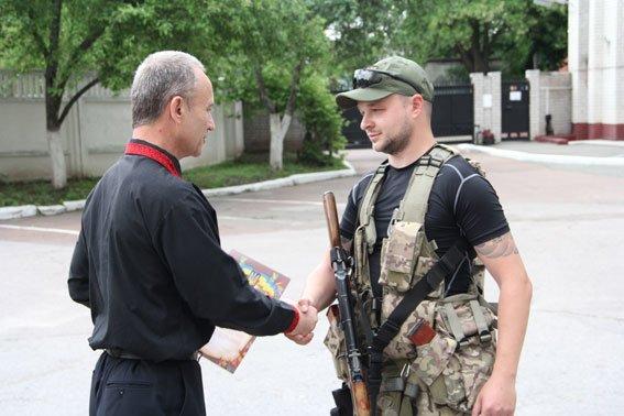 Бойцы роты «Чернигов» уехали в зону АТО, фото-5