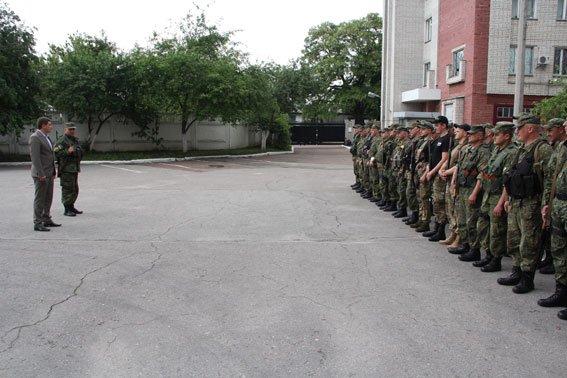 Бойцы роты «Чернигов» уехали в зону АТО, фото-2