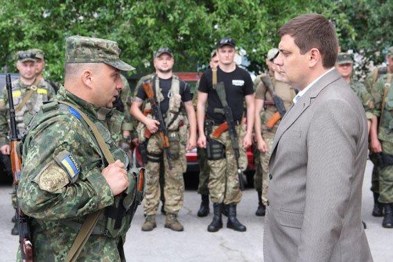 Бойцы роты «Чернигов» уехали в зону АТО, фото-1