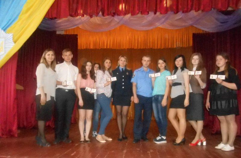 Будущие полицейские Селидова приняли присягу и получили удостоверения, фото-5